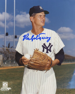RALPH TERRY - AUTOGRAPHED SIGNED PHOTOGRAPH