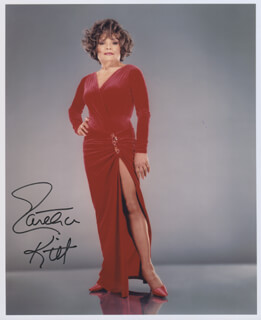 EARTHA KITT - AUTOGRAPHED SIGNED PHOTOGRAPH