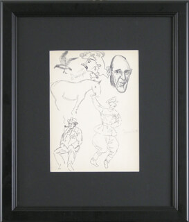AL HIRSCHFELD - ORIGINAL ART SIGNED