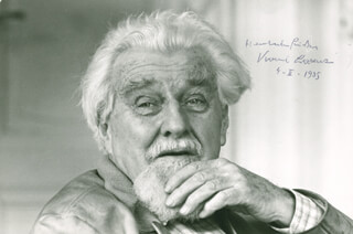 Autographs: KONRAD ZACHARIAS LORENZ - INSCRIBED PHOTOGRAPH SIGNED 02/04/1985