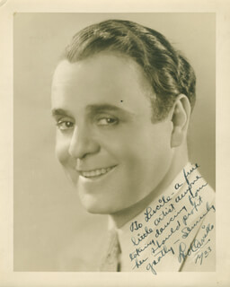 LEO PANCHO CARRILLO - AUTOGRAPHED INSCRIBED PHOTOGRAPH 1933
