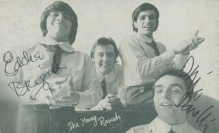THE (YOUNG) RASCALS - AUTOGRAPHED SIGNED PHOTOGRAPH CO-SIGNED BY: YOUNG RASCALS (EDDIE BRIGATI), YOUNG RASCALS (DINO DANELLI)