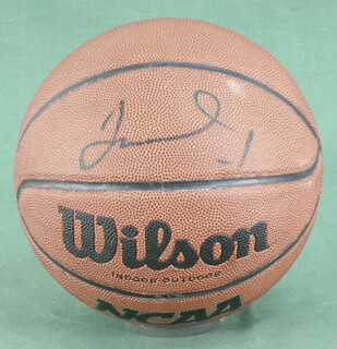 JAMES A. WORTHY - BASKETBALL SIGNED