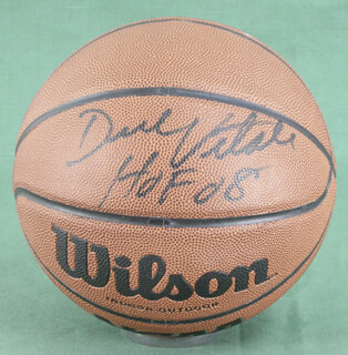 DICK VITALE - BASKETBALL SIGNED