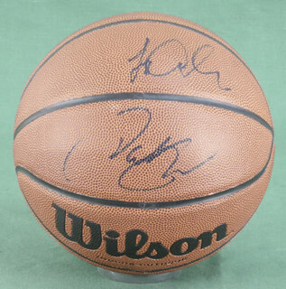 PAT RILEY - INSCRIBED BASKETBALL SIGNED