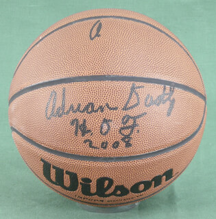 ADRIAN DANTLEY - BASKETBALL SIGNED