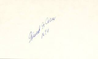 Autographs: HOWARD G. CANN - SIGNATURE(S)