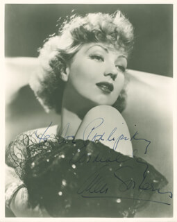 ANN SOTHERN - AUTOGRAPHED INSCRIBED PHOTOGRAPH
