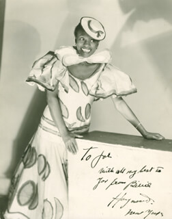 BILLIE HAYWOOD - AUTOGRAPHED INSCRIBED PHOTOGRAPH
