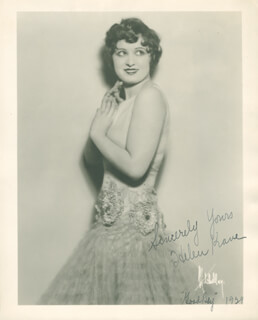 HELEN KANE - AUTOGRAPHED SIGNED PHOTOGRAPH 1929
