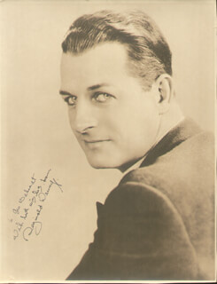 REGINALD DENNY - AUTOGRAPHED INSCRIBED PHOTOGRAPH