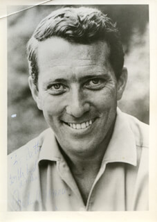 ANDY WILLIAMS - AUTOGRAPHED INSCRIBED PHOTOGRAPH