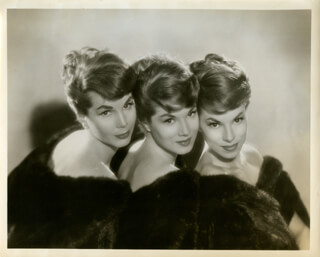 MCGUIRE SISTERS, THE - PHOTOGRAPH UNSIGNED