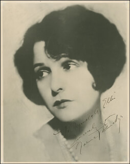 NORMA TALMADGE - AUTOGRAPHED INSCRIBED PHOTOGRAPH