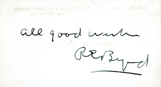 REAR ADMIRAL RICHARD E. BYRD - AUTOGRAPH SENTIMENT SIGNED 1931
