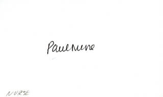 SIR PAUL NURSE - AUTOGRAPH
