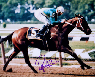 ROBBY ALBARADO - AUTOGRAPHED SIGNED PHOTOGRAPH