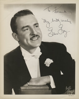 GLEN GRAY - AUTOGRAPHED INSCRIBED PHOTOGRAPH