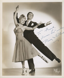 PIERCE AND ROLAND - AUTOGRAPHED INSCRIBED PHOTOGRAPH