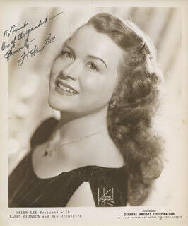 HELEN LEE - AUTOGRAPHED INSCRIBED PHOTOGRAPH