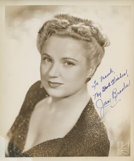 JOAN BROOKS - AUTOGRAPHED INSCRIBED PHOTOGRAPH