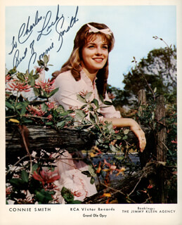 CONNIE SMITH - AUTOGRAPHED INSCRIBED PHOTOGRAPH
