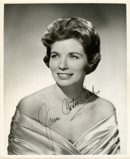 JUNE CARTER CASH - AUTOGRAPHED SIGNED PHOTOGRAPH