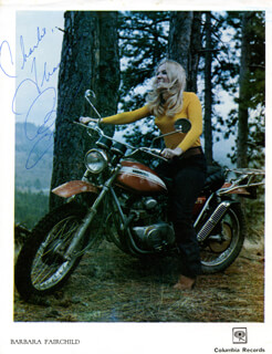 BARBARA FAIRCHILD - AUTOGRAPHED INSCRIBED PHOTOGRAPH