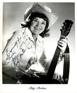 PATSY MONTANA - AUTOGRAPHED INSCRIBED PHOTOGRAPH
