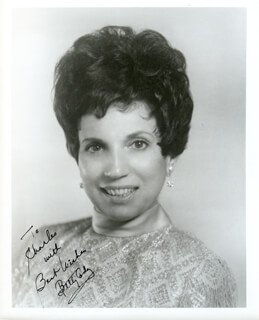 BETTY CODY - AUTOGRAPHED INSCRIBED PHOTOGRAPH
