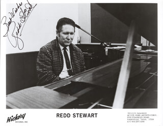 REDD STEWART - AUTOGRAPHED SIGNED PHOTOGRAPH