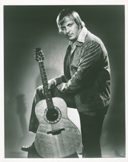 CHUCK STEWART - AUTOGRAPHED INSCRIBED PHOTOGRAPH