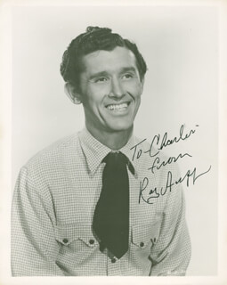 Autographs: ROY ACUFF - INSCRIBED PHOTOGRAPH SIGNED