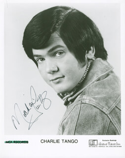 MICHAEL CHARLIE TANGO TWITTY - AUTOGRAPHED SIGNED PHOTOGRAPH