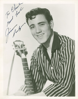 JIMMIE F. RODGERS - AUTOGRAPHED INSCRIBED PHOTOGRAPH