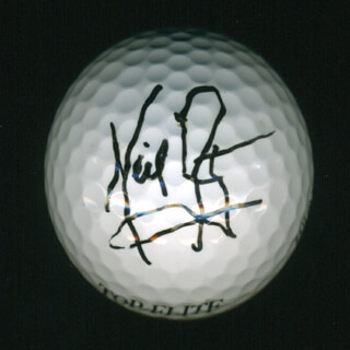 Autographs: NEIL ARMSTRONG - GOLF BALL SIGNED