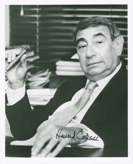HOWARD COSELL - AUTOGRAPHED SIGNED PHOTOGRAPH