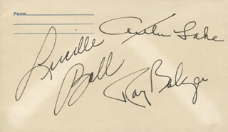 LUCILLE LUCY BALL - ENVELOPE SIGNED CO-SIGNED BY: RAY BOLGER, ARTHUR LAKE