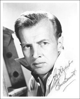 BRUCE (HERMAN BRIX) BENNETT - AUTOGRAPHED SIGNED PHOTOGRAPH