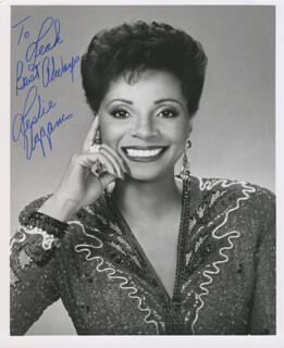 LESLIE UGGAMS - AUTOGRAPHED INSCRIBED PHOTOGRAPH
