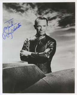 RAY WALSTON - AUTOGRAPHED INSCRIBED PHOTOGRAPH