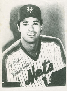 RON DARLING - PHOTOCOPY SIGNED IN INK