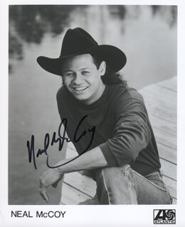 NEAL MCCOY - PRINTED PHOTOGRAPH SIGNED IN INK