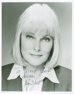 MAY BRITT - AUTOGRAPHED INSCRIBED PHOTOGRAPH