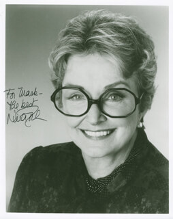 NINA FOCH - AUTOGRAPHED INSCRIBED PHOTOGRAPH