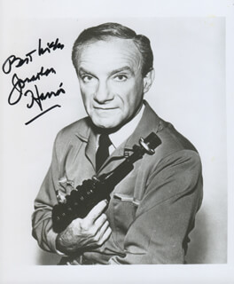 JONATHAN HARRIS - AUTOGRAPHED SIGNED PHOTOGRAPH