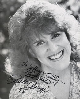RUTH BUZZI - AUTOGRAPHED INSCRIBED PHOTOGRAPH 1995