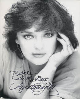 ANGELA CARTWRIGHT - AUTOGRAPHED INSCRIBED PHOTOGRAPH