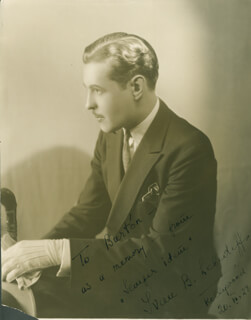 IVAN LEBEDEFF - AUTOGRAPHED INSCRIBED PHOTOGRAPH 11/20/1928