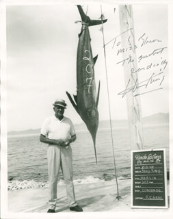 HENRY KING - AUTOGRAPHED INSCRIBED PHOTOGRAPH CIRCA 1965